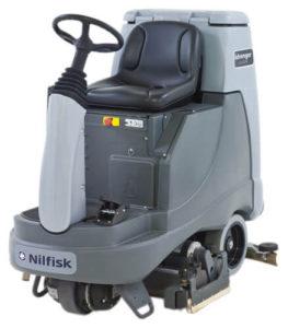 Lavadora de pisos tripulada Nilfisk Advenger 3400